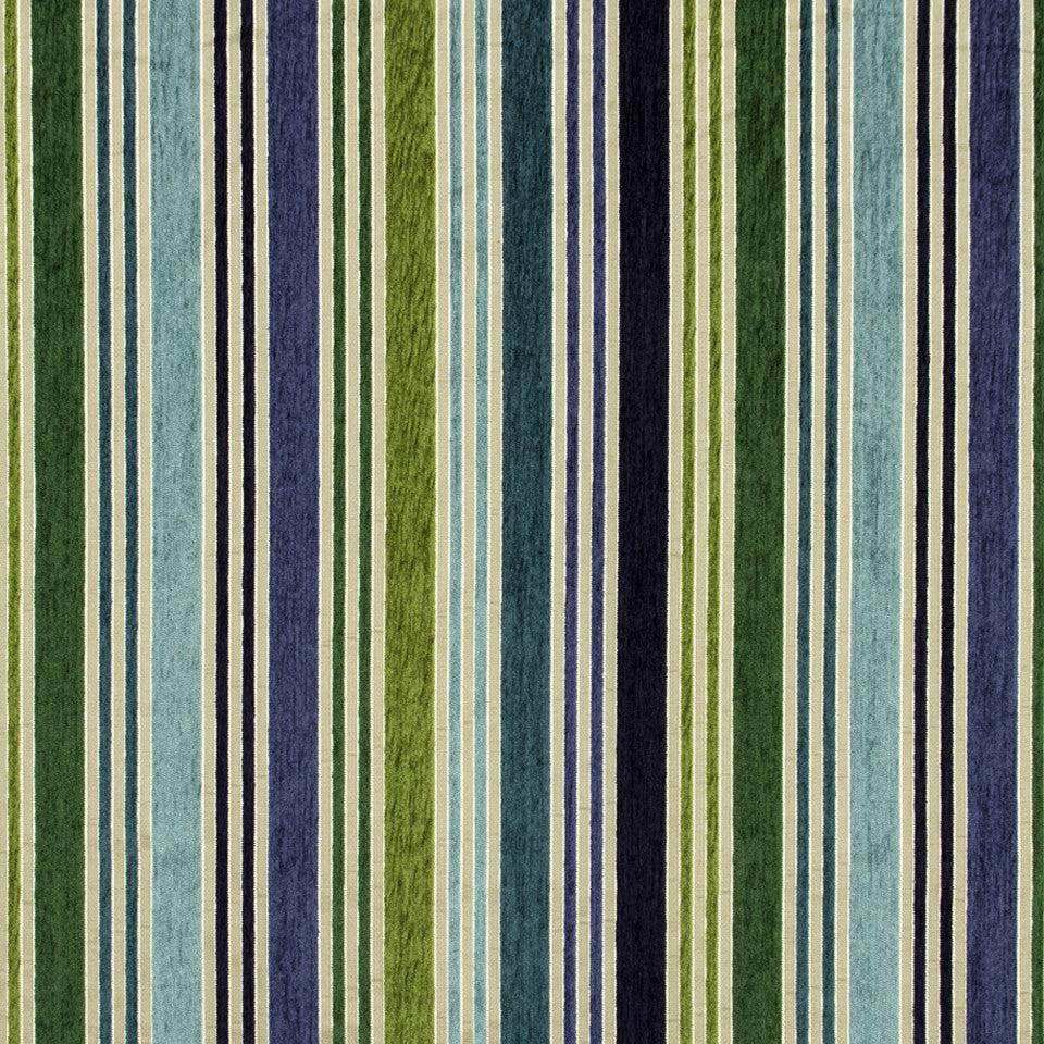 MALACHITE-ROYAL PURPLE-SLATE Lifted Lines Fabric - Malachite
