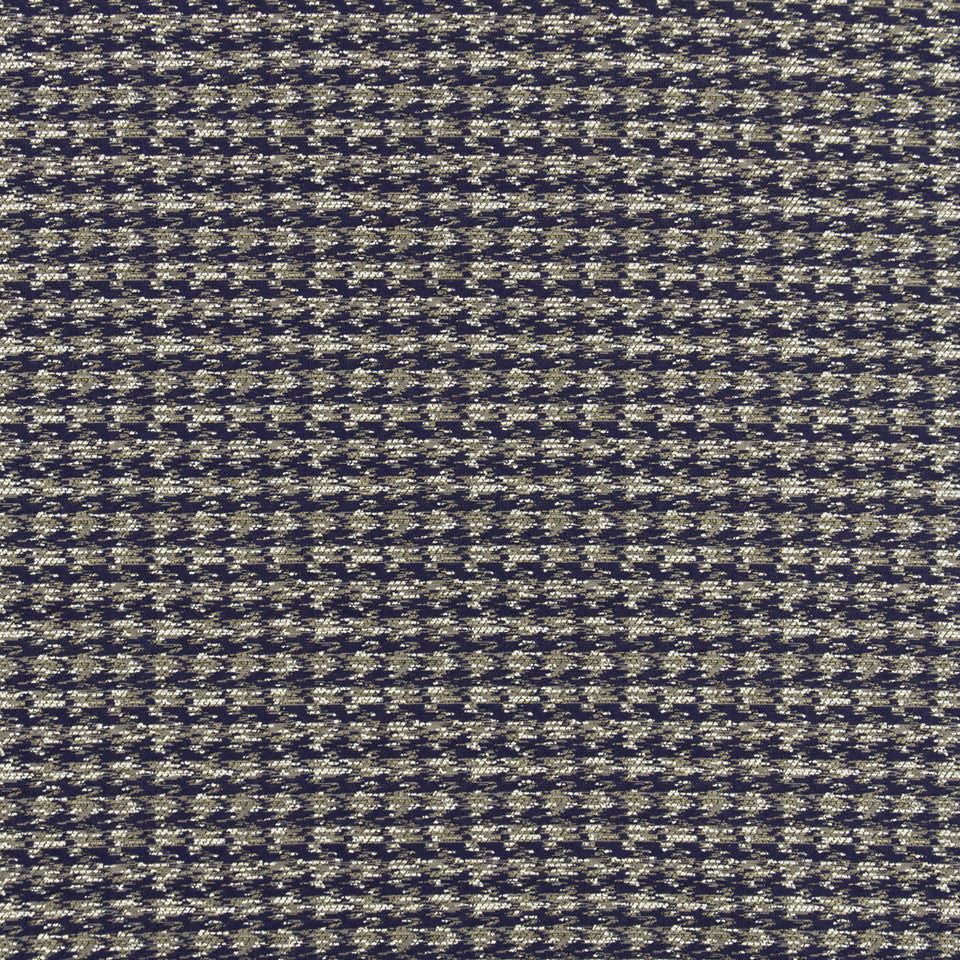 MALACHITE-ROYAL PURPLE-SLATE Texture Check Fabric - Royal Purple