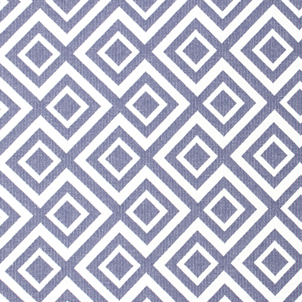 Switchback Fabric - Iris