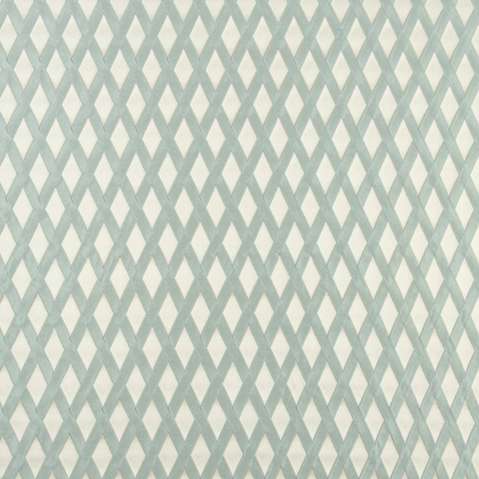 FOUNTAIN-DEW-SEA Ribbon Fence Fabric - Sea