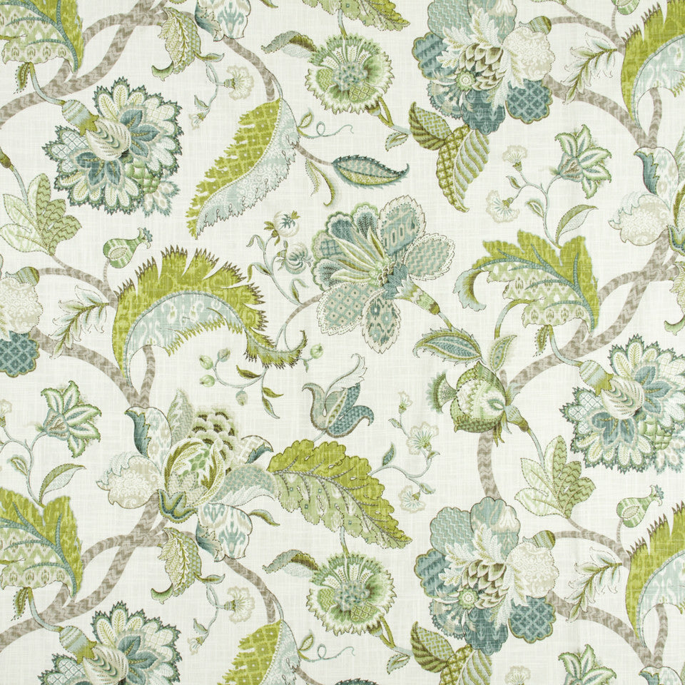 FOUNTAIN-DEW-SEA Fair Lady Fabric - Dew