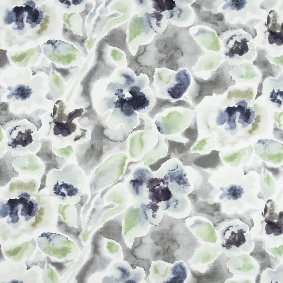 FOUNTAIN-DEW-SEA Forever Forest Fabric - Dew