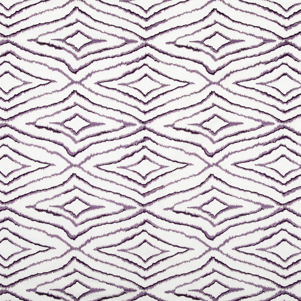 WISTERIA-IRIS-CHARTREUSE Swift Stitch Fabric - Wisteria