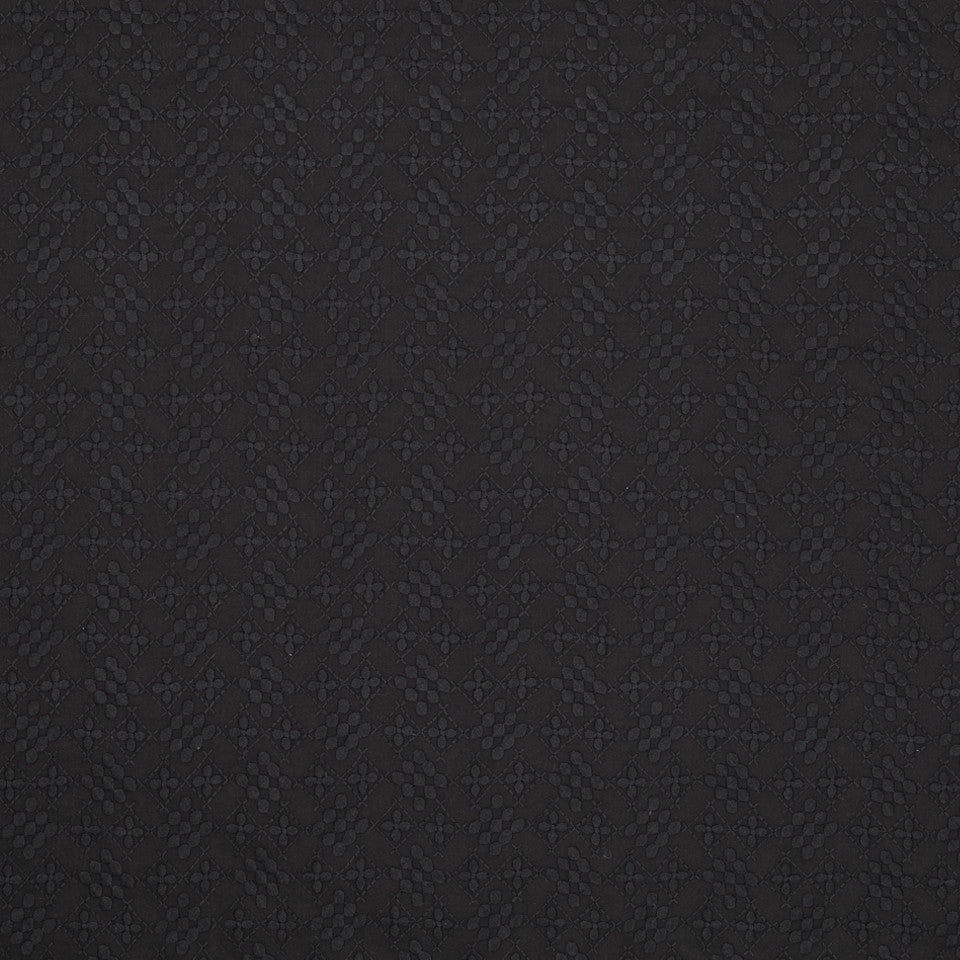 ZINC-CITRINE-CHALKBOARD Dainty Stitch Fabric - Night Sky