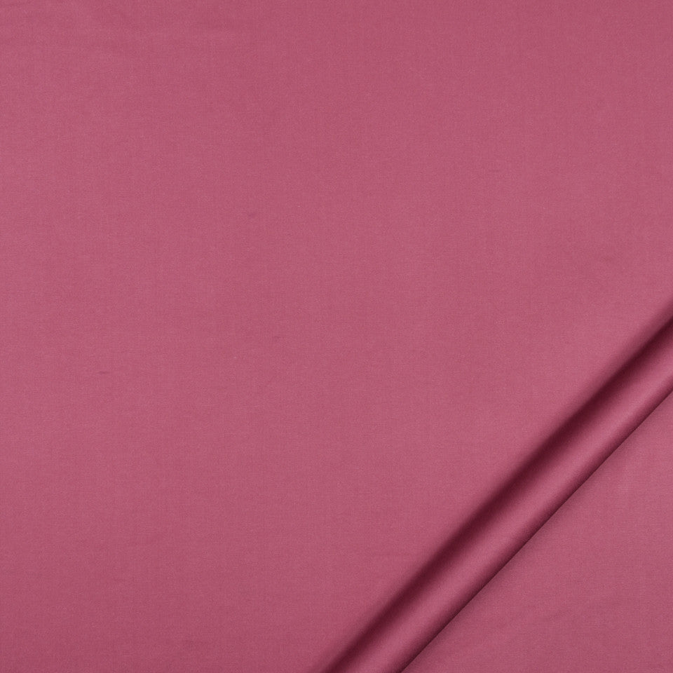 LUSTROUS SOLIDS Nyori Fabric - Raspberry