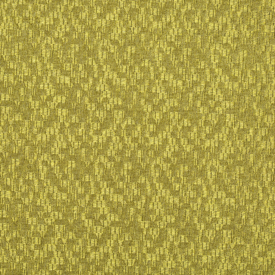 KIRK NIX ONE TEN WEST Game Changer Fabric - Citron