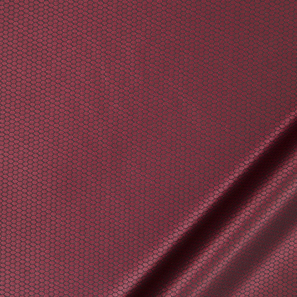 KIRK NIX ONE TEN WEST Cage Heat Fabric - Crimson