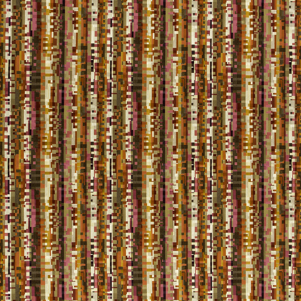 KIRK NIX ONE TEN WEST Digital Path Fabric - Passion