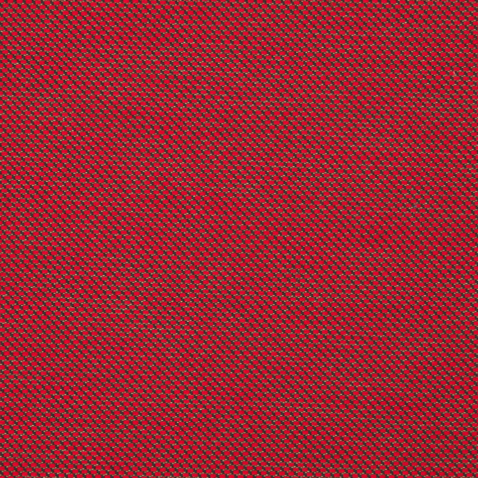 KIRK NIX ONE TEN WEST Shine Through Fabric - Crimson