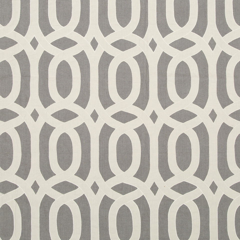 NATURALS SUNWASHED COLOR Figure Eight Fabric - Smoke