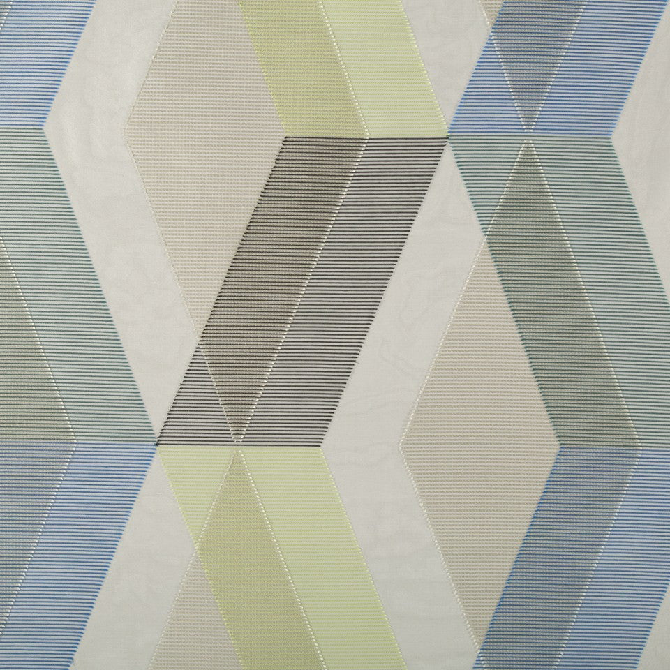 KIRK NIX ONE TEN WEST Dolce Vita Fabric - Azzura