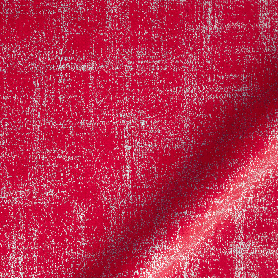 KIRK NIX ONE TEN WEST Palisadas Fabric - Crimson