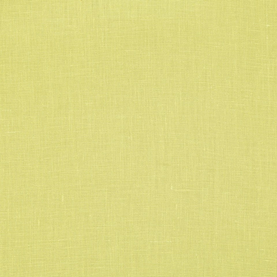 DRAPEABLE LINEN Kilrush II Fabric - Lemongrass