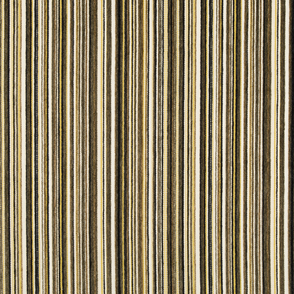 DWELLSTUDIO MODERN ARCHIVE Chroma Stripe Fabric - Ink