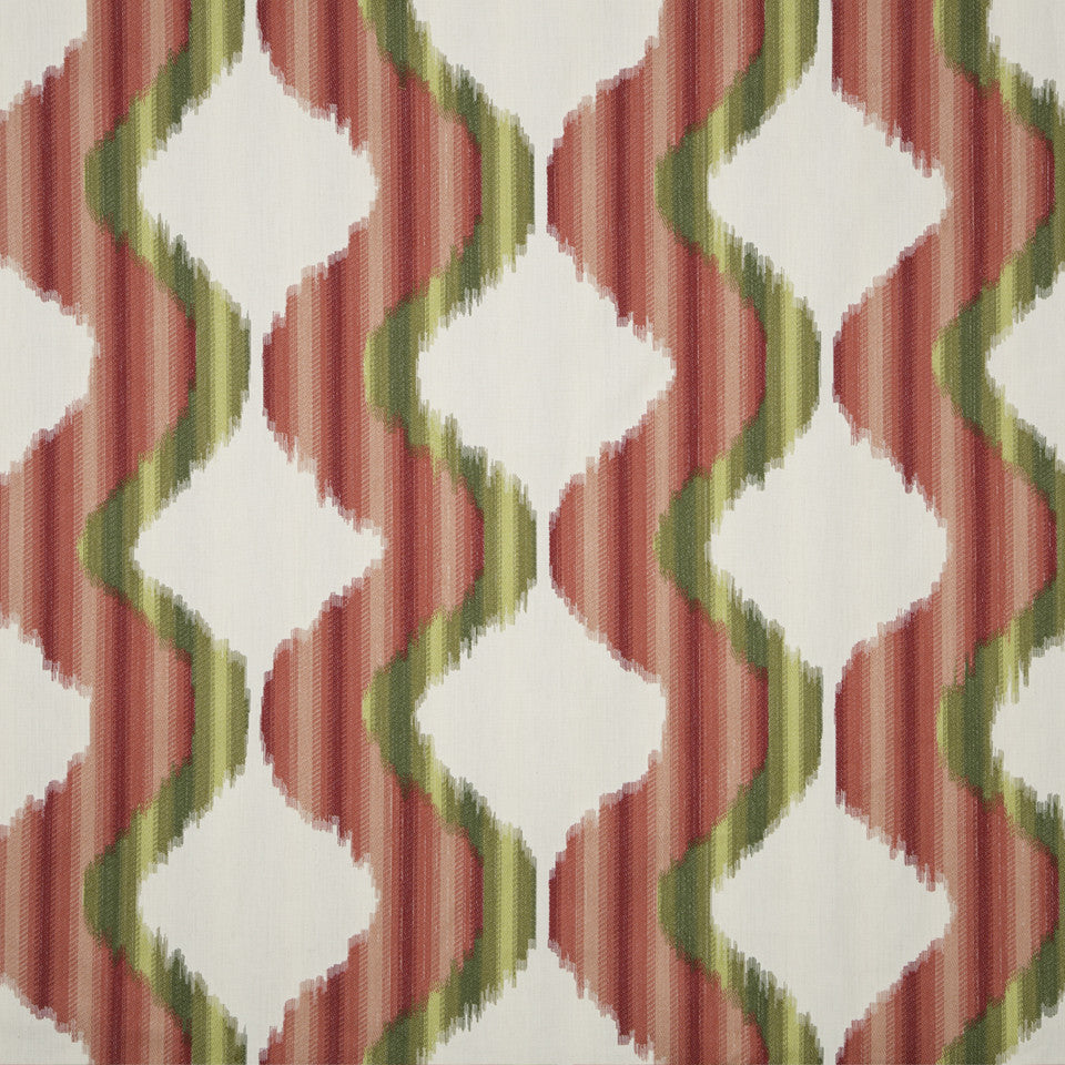 DWELLSTUDIO MODERN ARCHIVE Madras Fabric - Poppy