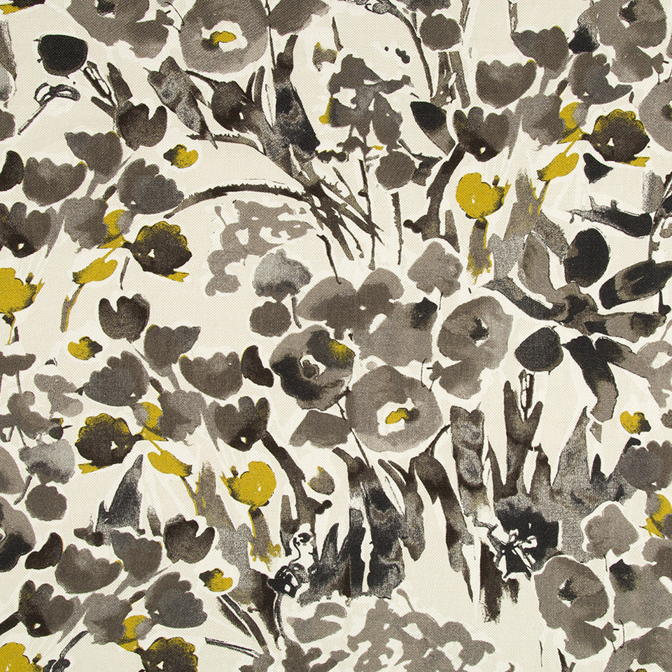 DWELLSTUDIO MODERN ARCHIVE Severine Fabric - Ink