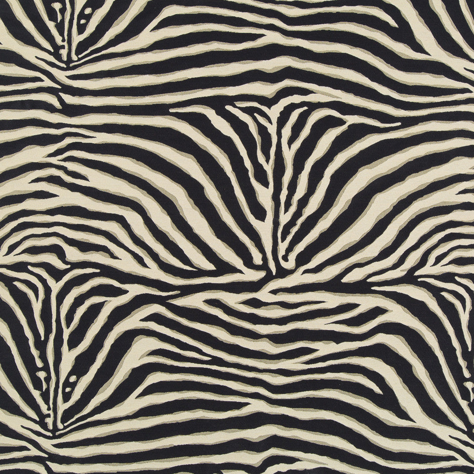 DWELLSTUDIO MODERN ARCHIVE Zaza Fabric - Ink