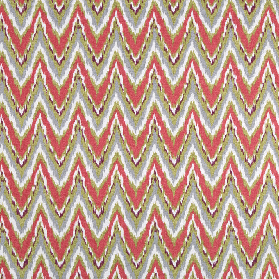 Neo Flame Fabric - Coral