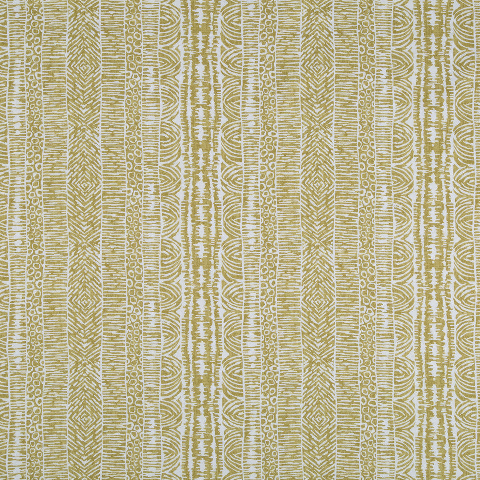 Global Lines Fabric - Amber