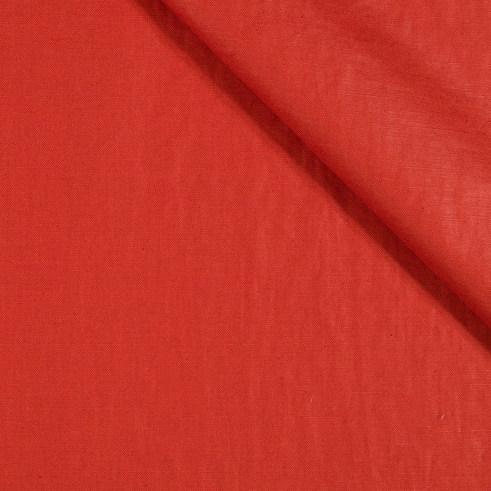 LUSTROUS SOLIDS Radiant Chintz Fabric - Lacquer Red