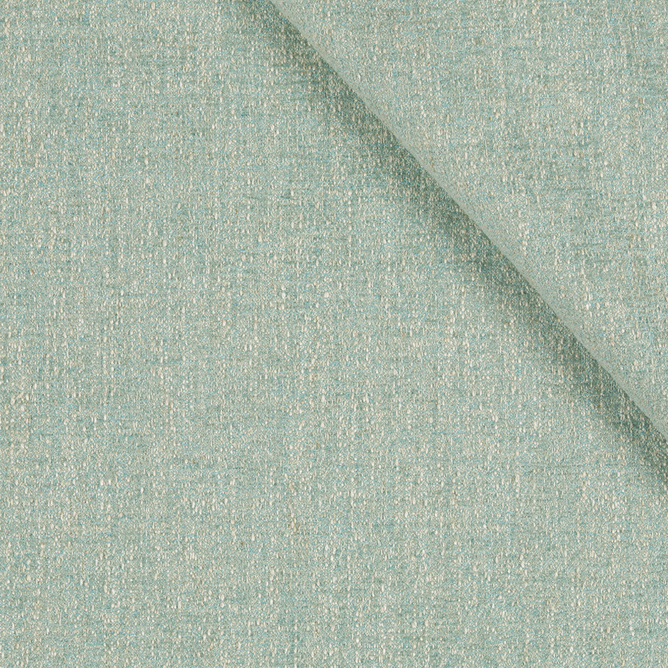 WATER Tonal Chenille Fabric - Robins Egg