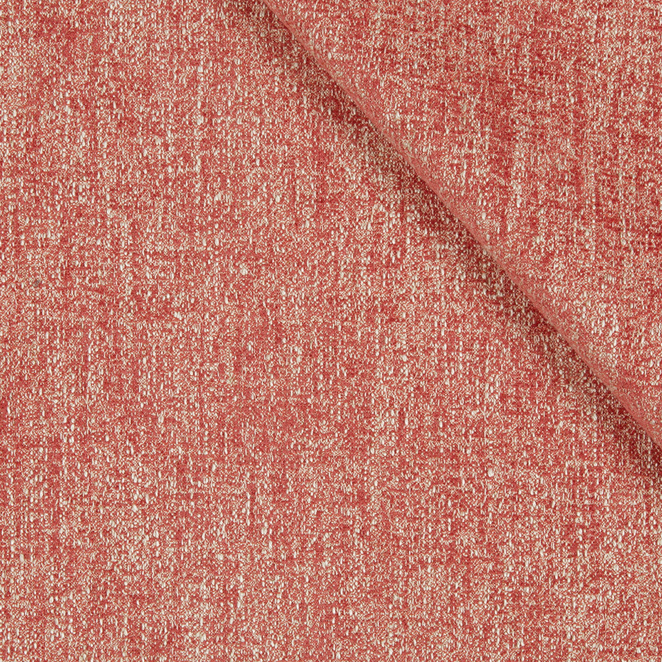 CORAL REEF Tonal Chenille Fabric - Coral Reef