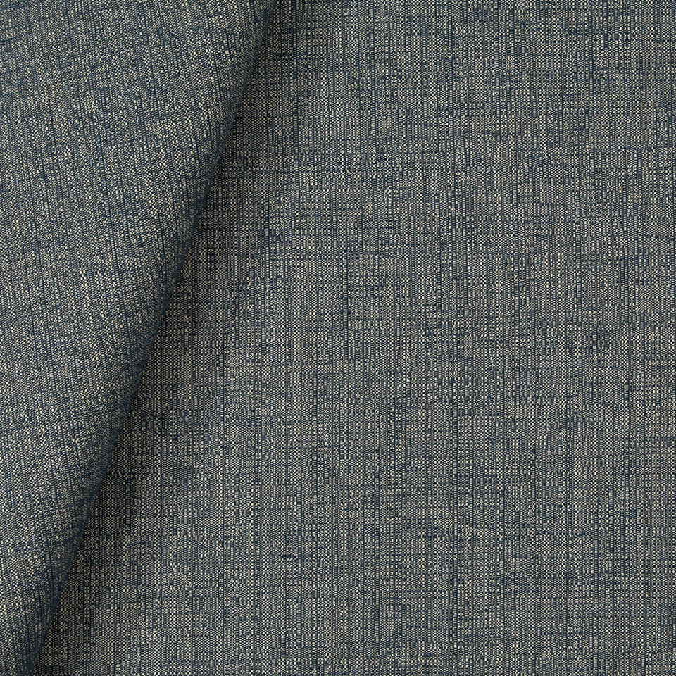 INDOOR/OUTDOOR Heather Breeze Fabric - Indigo