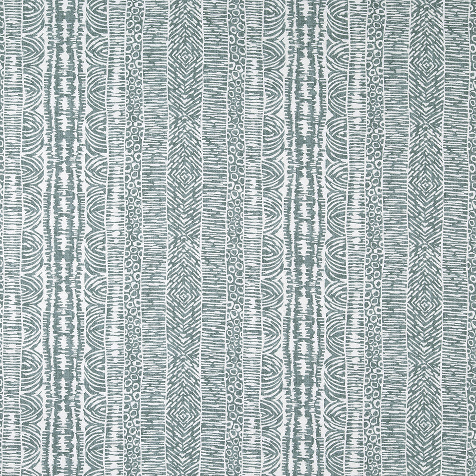 Global Lines Fabric - Cove