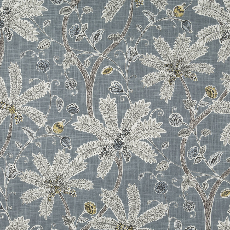 Indienne Ink Fabric - Mineral