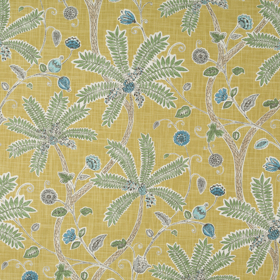 Indienne Ink Fabric - Amber