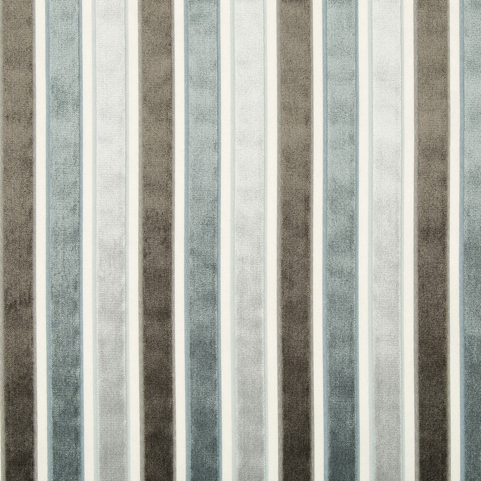 Neo Stripe Fabric - Mineral