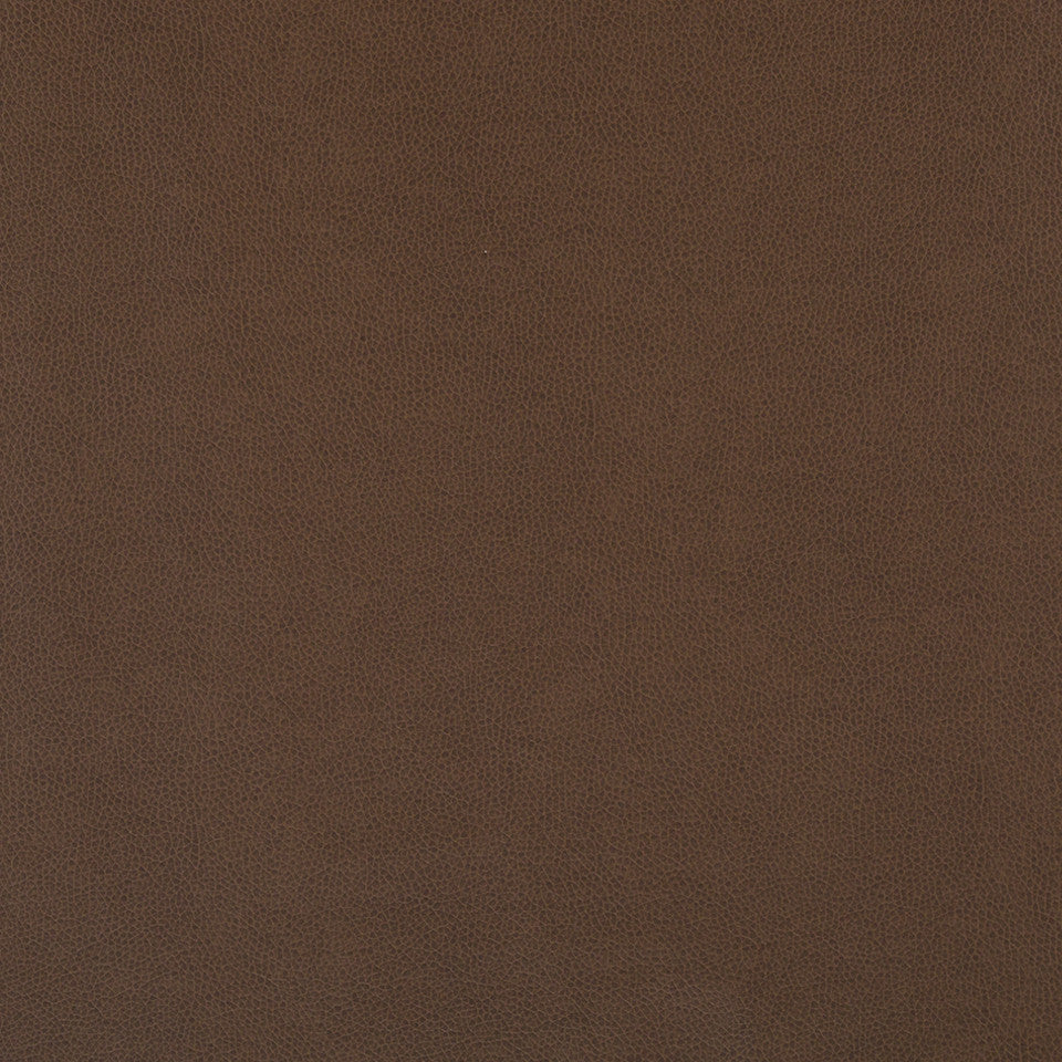 FAUX LEATHER II Aubrey Solid Fabric - Truffle