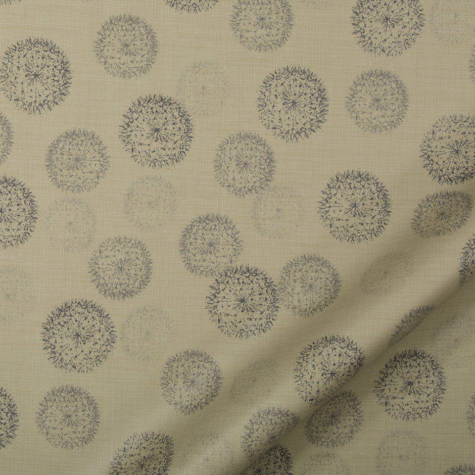 PERFORMANCE UPHOLSTERY/NANO-TEX  DURABLOCK/FAUX LEATHER Spring Walk Fabric - Linen