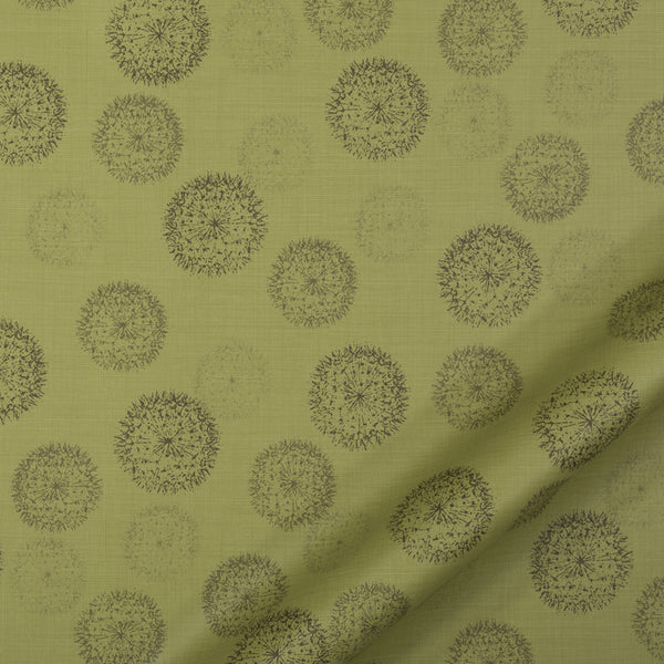 PERFORMANCE UPHOLSTERY/NANO-TEX  DURABLOCK/FAUX LEATHER Spring Walk Fabric - Leaf