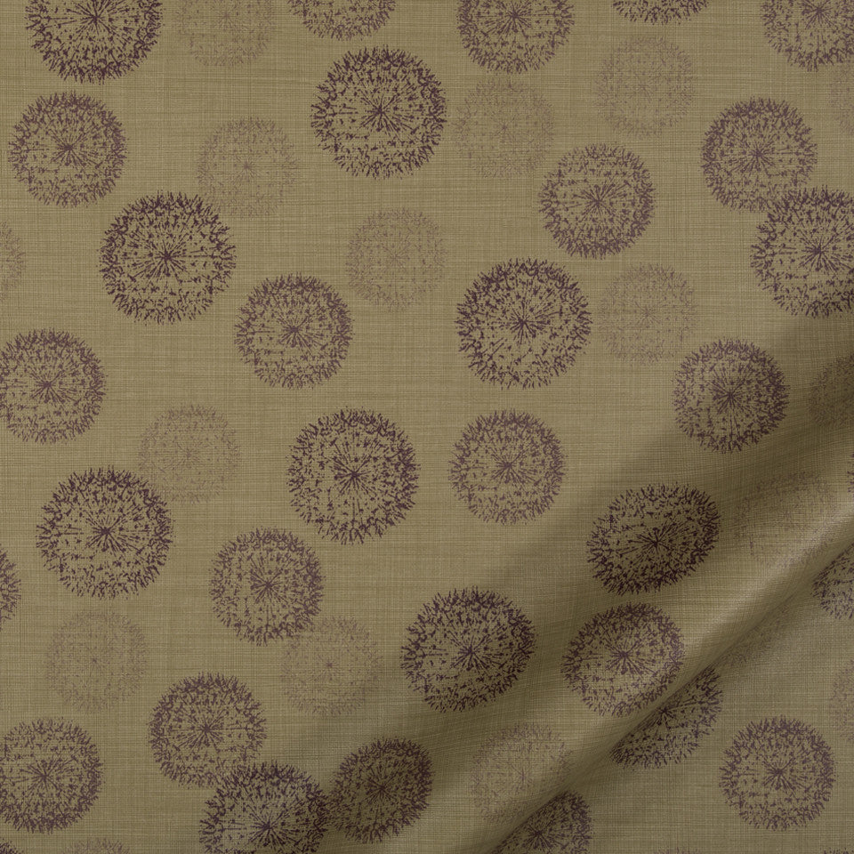 PERFORMANCE UPHOLSTERY/NANO-TEX  DURABLOCK/FAUX LEATHER Spring Walk Fabric - Taupe