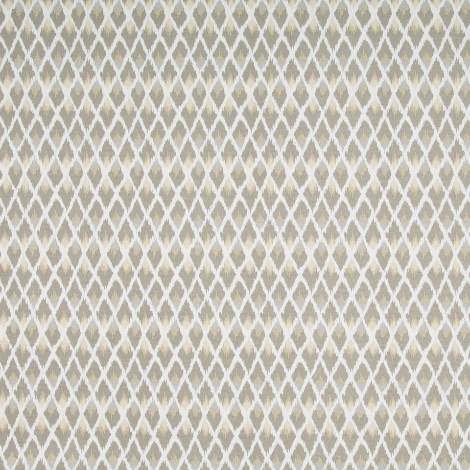 Posh Ikat Fabric - Pewter