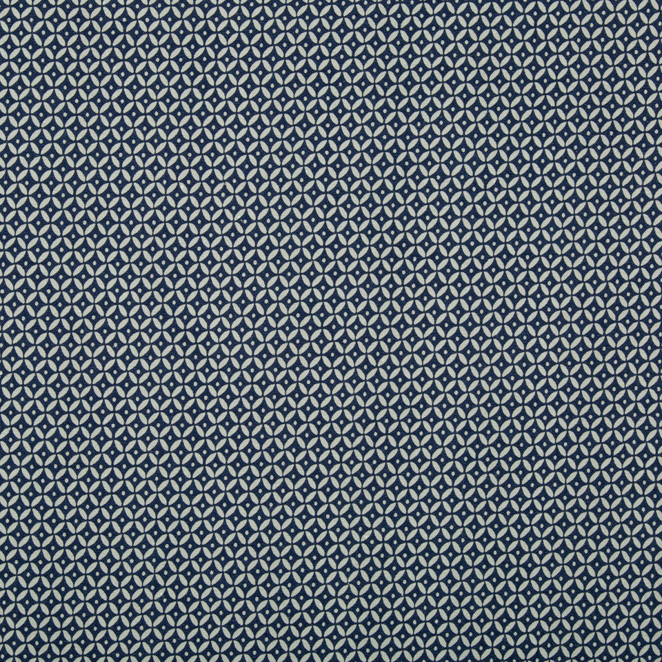 Nomad Mix Fabric - Indigo