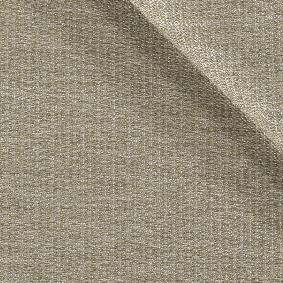 SOLID TEXTURES III Lustrous Rows Fabric - Natural