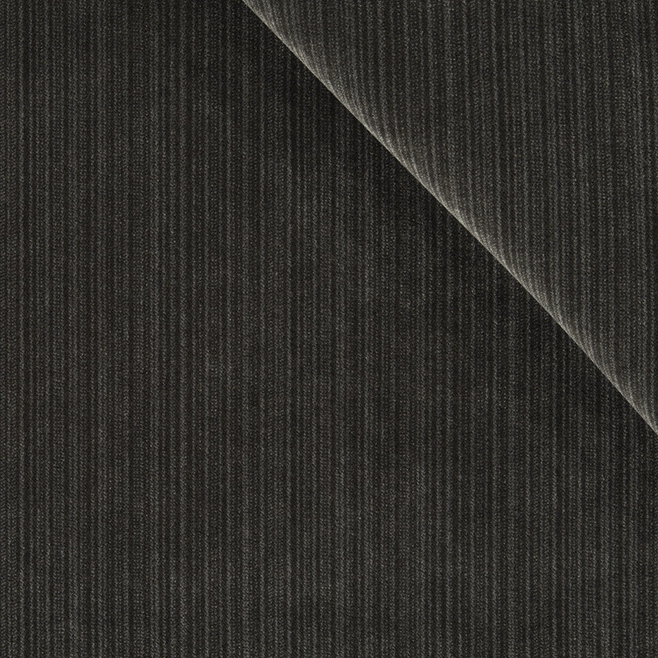 STRIE VELVETS Plush Strie Fabric - Slate
