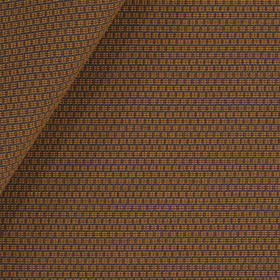 SOLID TEXTURES III Square Texture Fabric - Mango