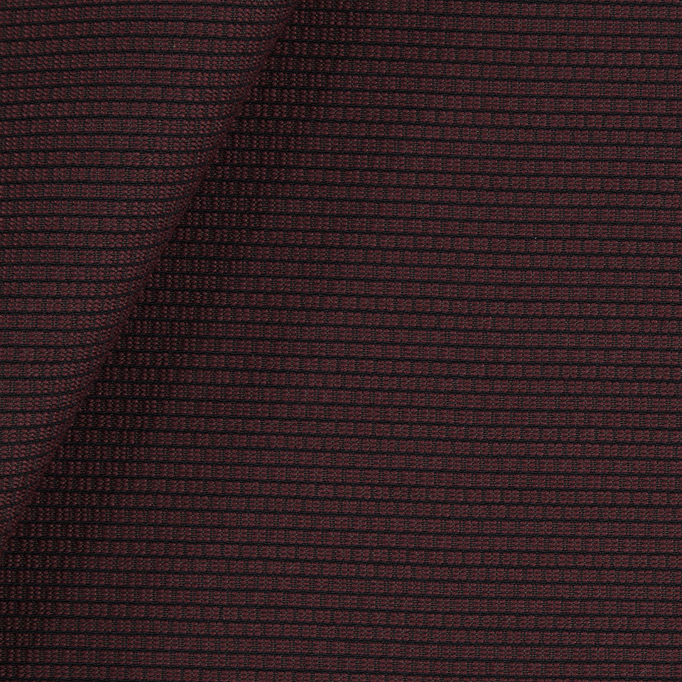 SOLID TEXTURES III Square Texture Fabric - Merlot