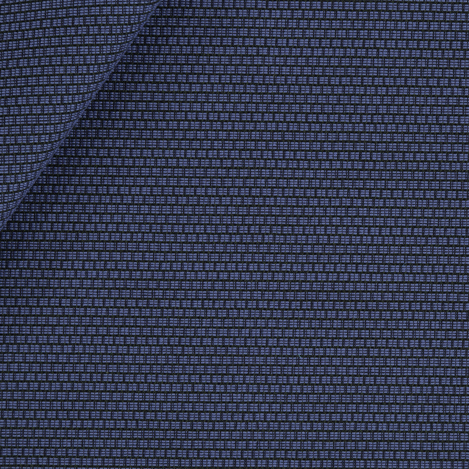SOLID TEXTURES III Square Texture Fabric - Sapphire