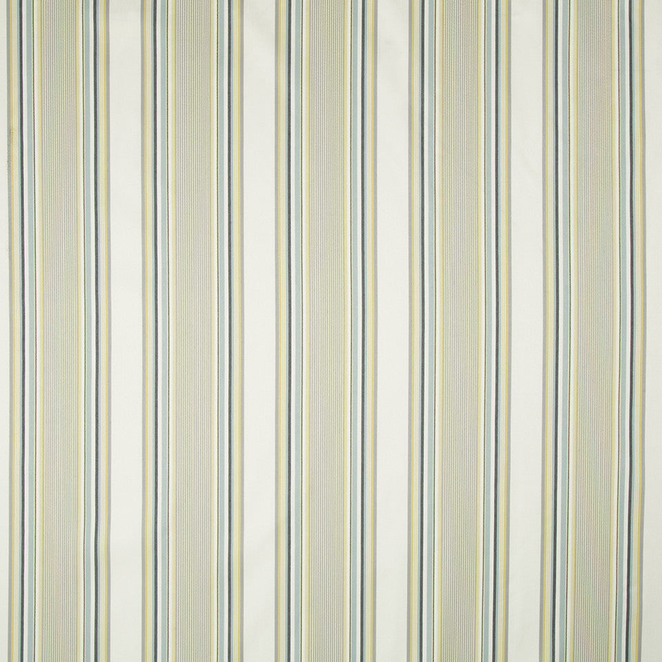 WATER Michiba Stripe Fabric - Water