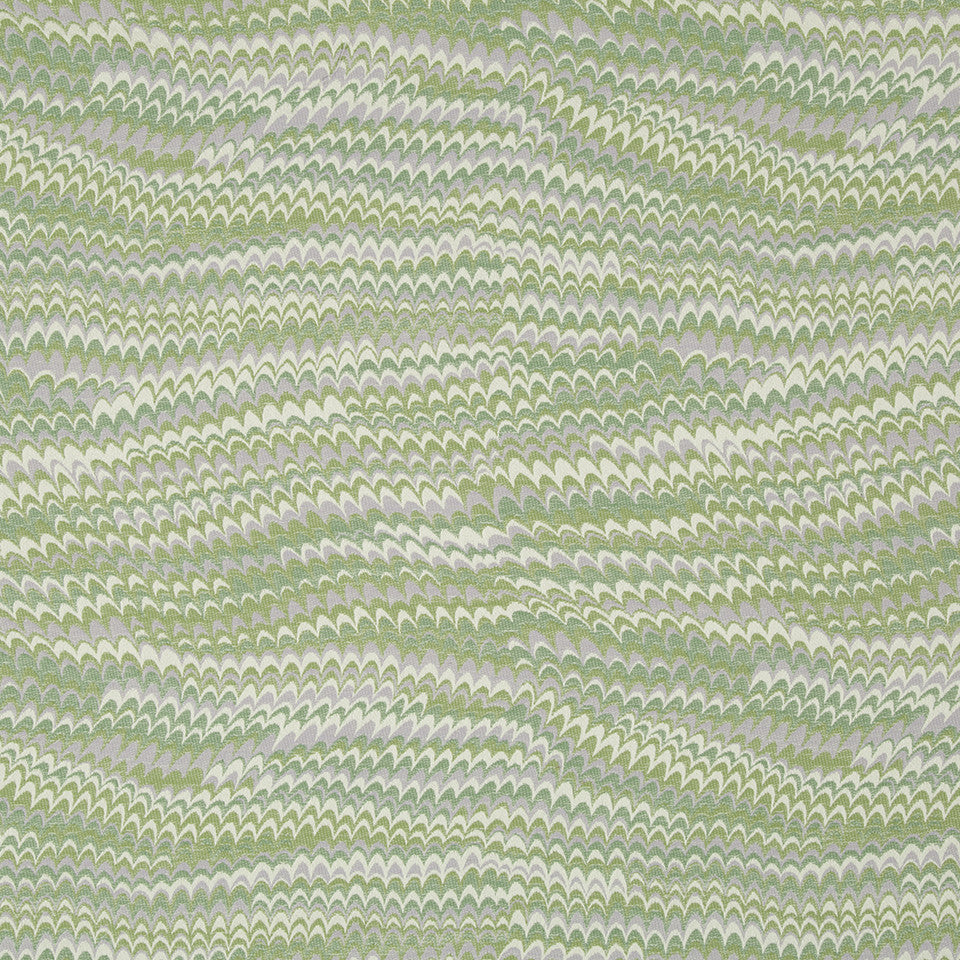 SPRING GRASS Perfect Wave Fabric - Spring Grass