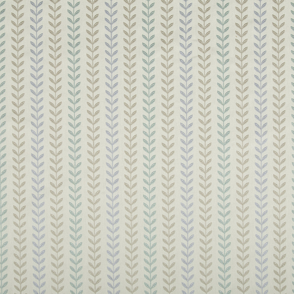 WATER Viney Lines Fabric - Water