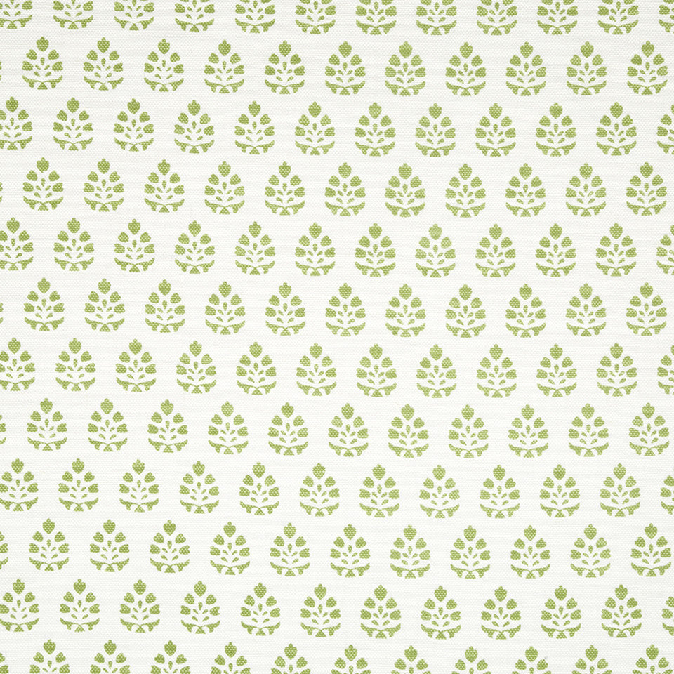 SPRING GRASS Belle Bloom Fabric - Spring Grass