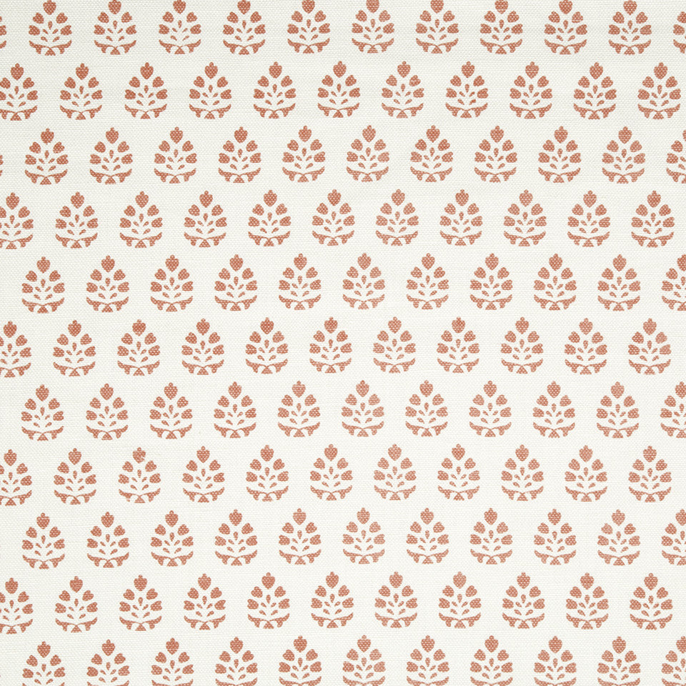 CORAL REEF Belle Bloom Fabric - Coral Reef
