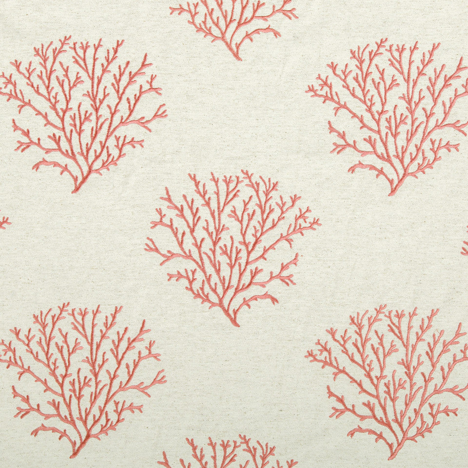 CORAL REEF Seacrest Shore Fabric - Coral Reef