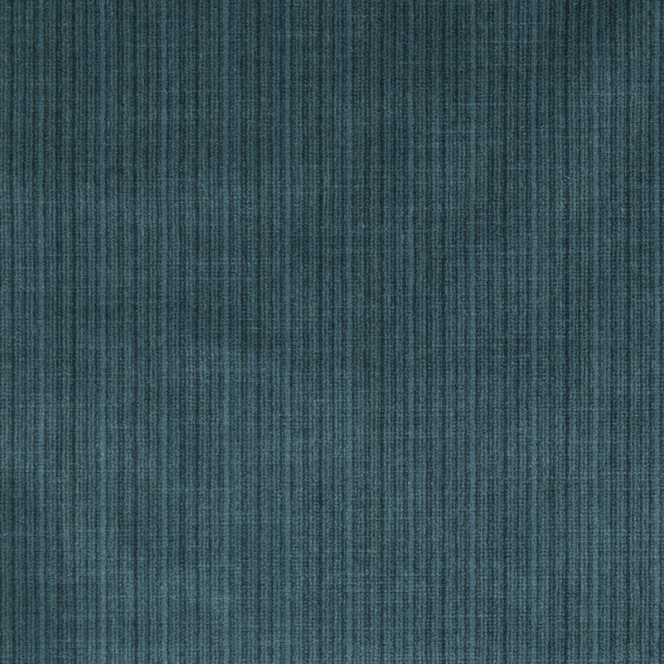 STRIE VELVETS Leyritz Fabric - Peacock