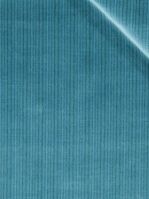 STRIE VELVETS Leyritz Fabric - Turquoise